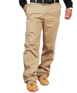 Classic Fit Khaki Dress Pants