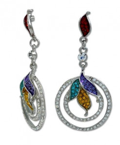 Multi Colour Earrings LE -044