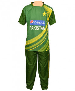 Pakistan Cricket Team Sports Uniform