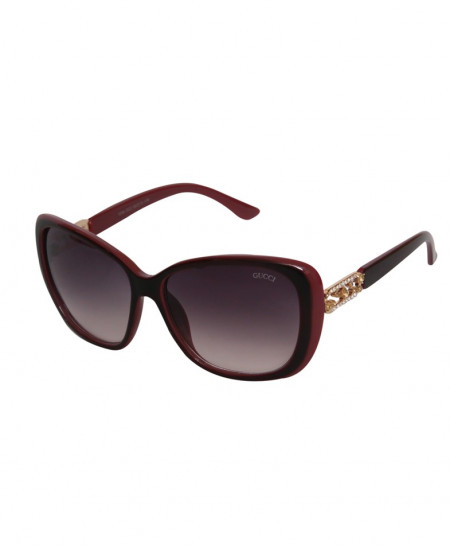 Gucci Aviator Style Double Contrast Sunglasses 1244