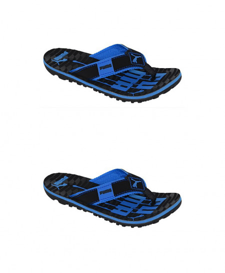 2X PMA Blue And Black Slipper SN-1326