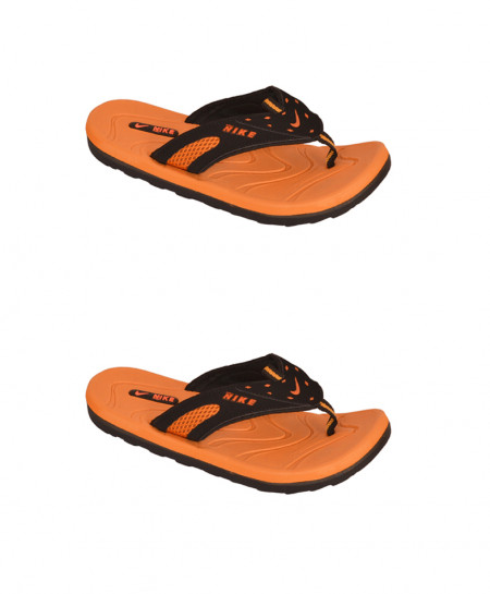 2X NK Orange Slippers SN-1198