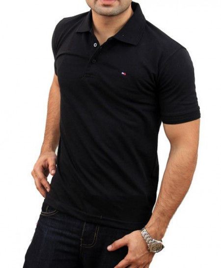Tommy Hilfiger Logo Polo-Shirt TM-657