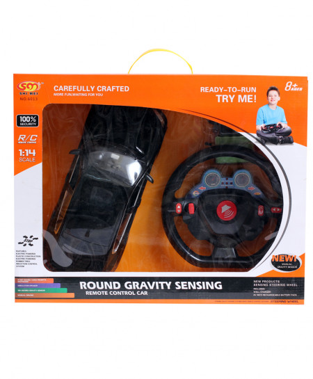 Round Gravity Sensing Remote Control Car