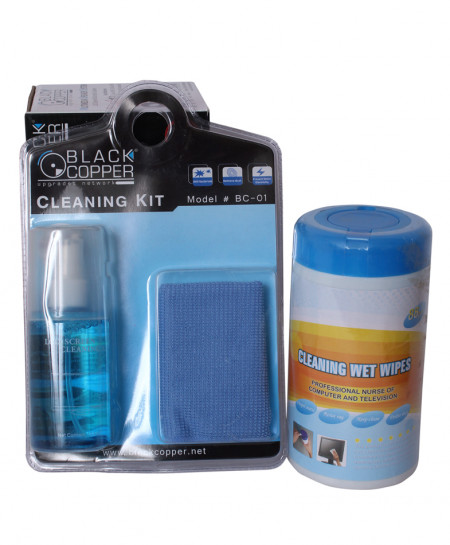 Cleaning Wet Wipe Kit