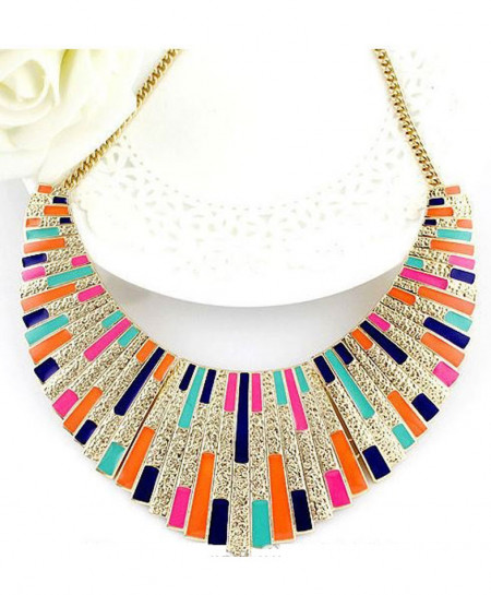 Enamel Retro Necklace
