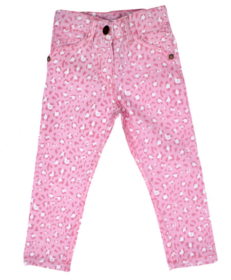 Pink Floral Stylish Baby Girl Pant
