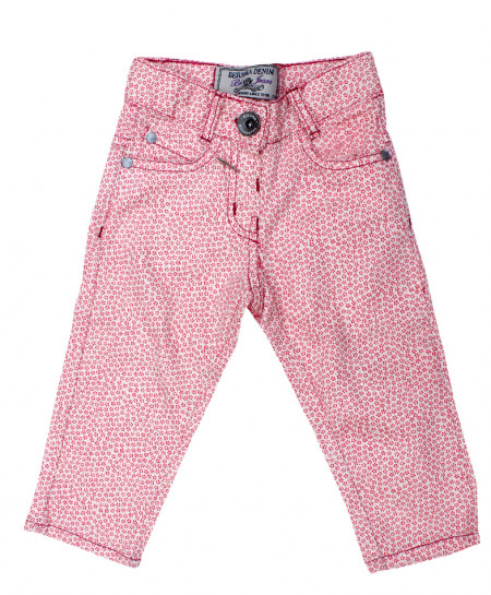 Pink Flower Style Baby Girl Pant