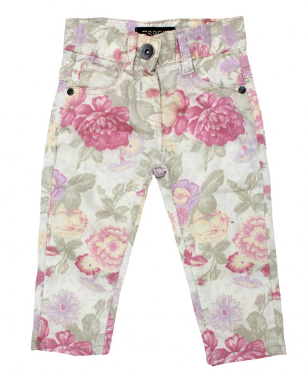 Light Floral Stylish Baby Girl Pant