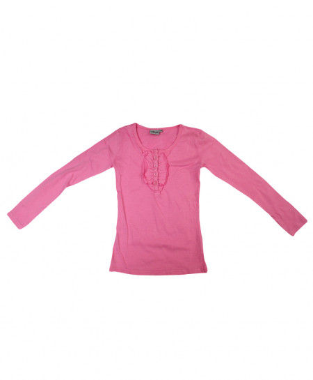 Pink Stylish Baby Girl Shirt