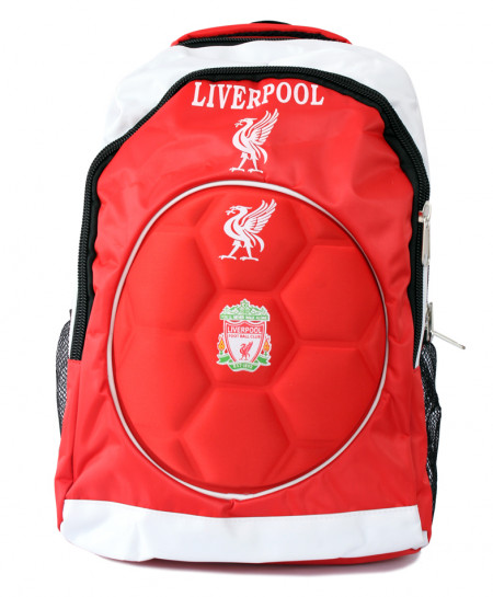 Liverpool Red White Sports Bag
