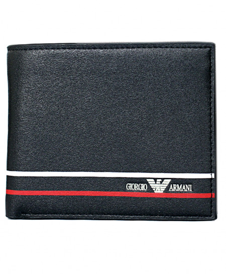 GA Black Leather Wallet SF-1923