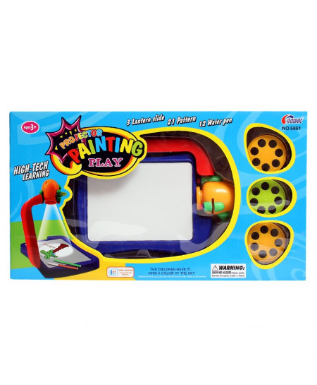 Projector Painting Play High Tech Learning No-6861