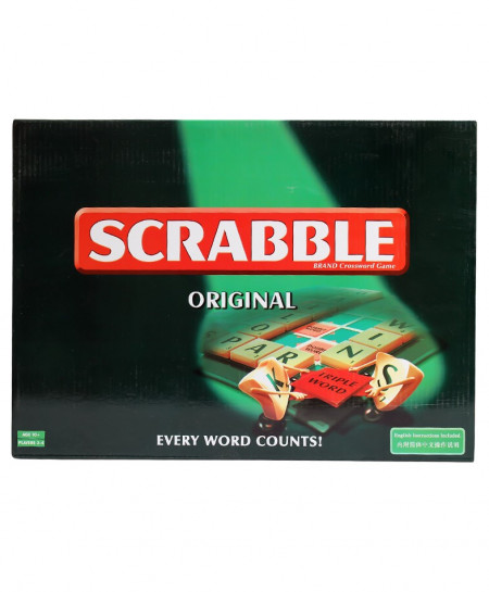Scrabble Original Brand Crossword Game No-55065