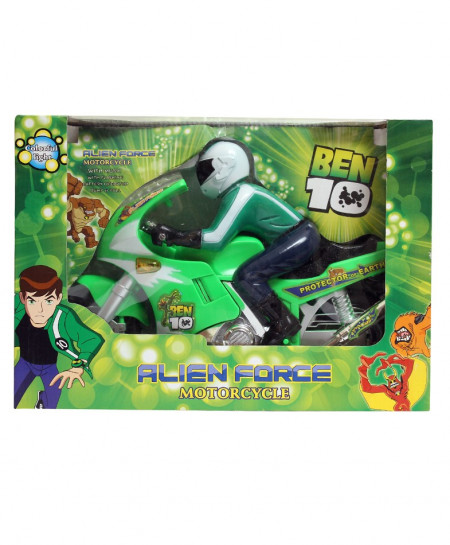 Alien Force Ben 10 Motorcycle