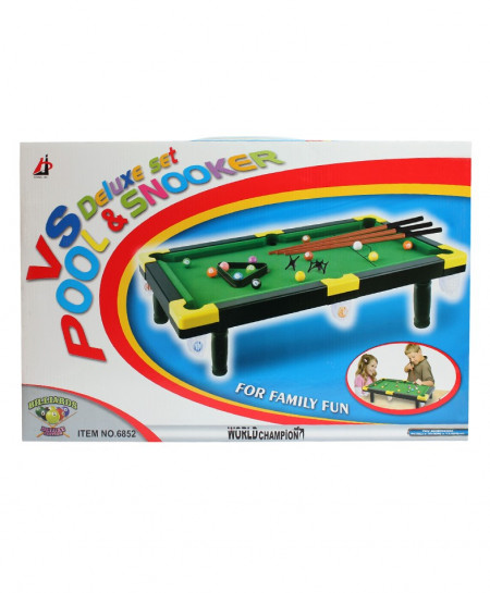 Deluxe Set Pool And Snooker
