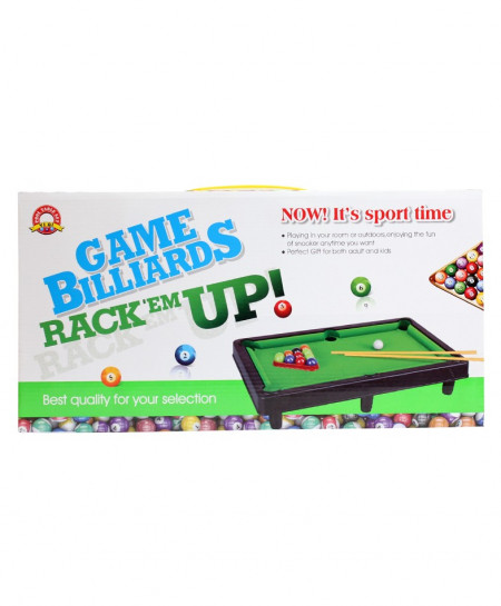 Game Billiards Rack Up No-3045