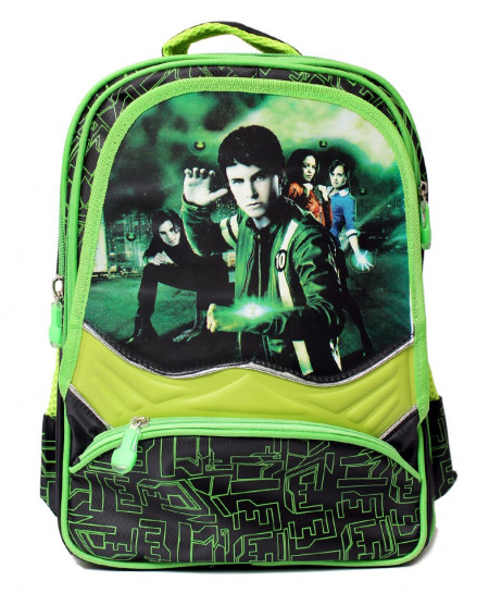 Ben 10 Cartoon 5 Pockets School Backpack