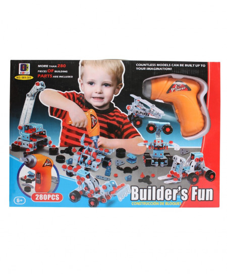 Builders Fun Toy For Junior Engineers