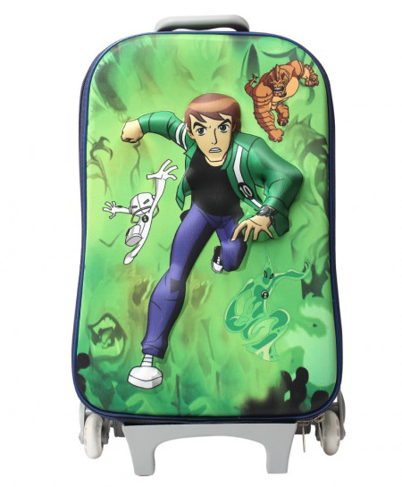 Ben 10 Cartoon 3D Luggage Bag For Kids