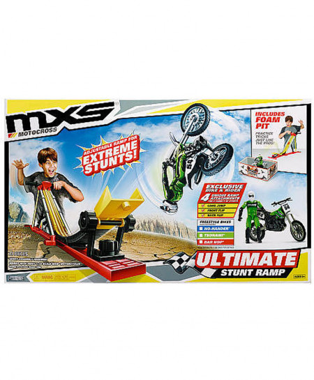 MXS Stunt Ramp Playset