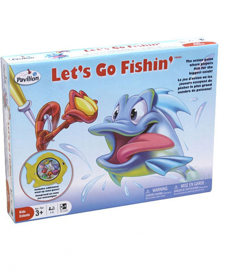Pavilion Lets Go Fishing Game