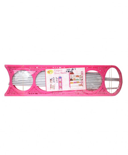 Pink Elegant Shoe Racks