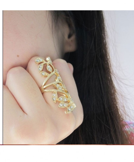 Gold Plated Stylish Ring AM-R1