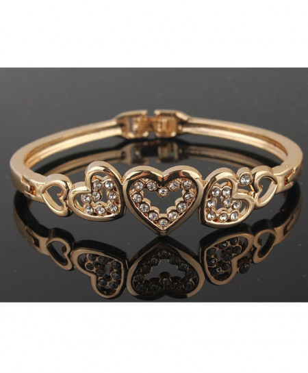 Heart Style Ladies Bracelet AM-013