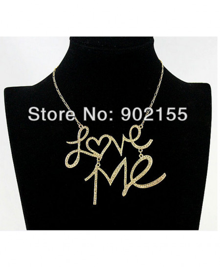 Gold Love Stylish Ladies Necklace AM-014