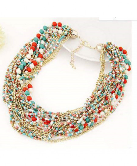 Multi Layers Necklace AM-030