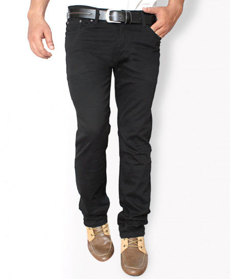 Black Soft Cotton Stylish Casual Pant QG-014