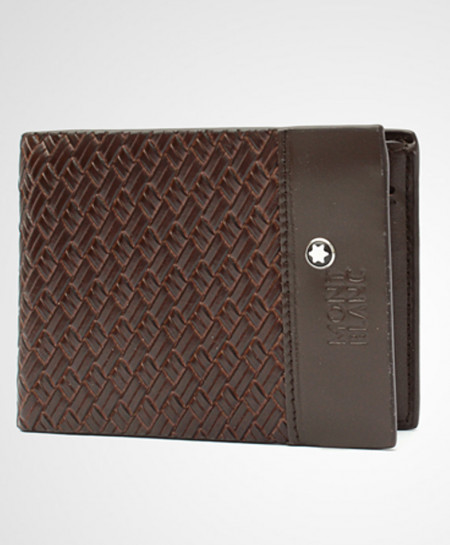 MB Coffee Leather Wallet 9130