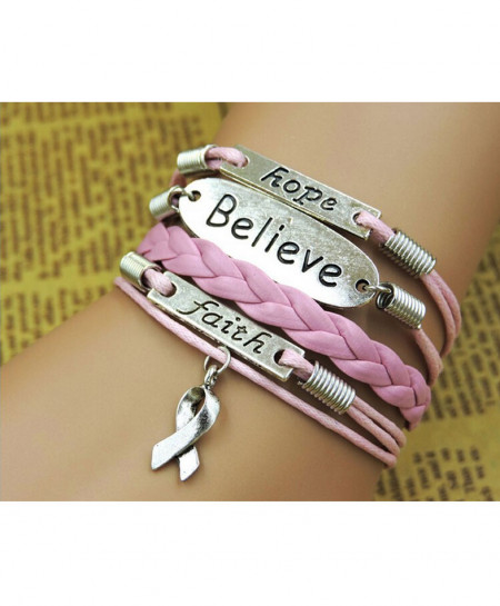 Pink Multi Layer Bracelet AM-036