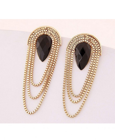 Tassel Long Chain Earring AM-055