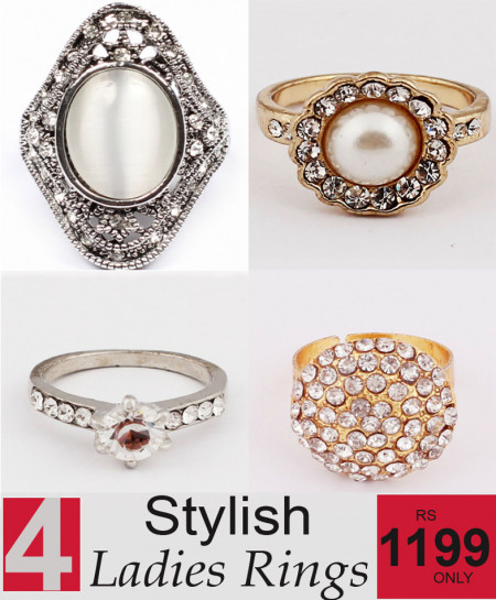 Stylish Ladies Rings Bundle-1