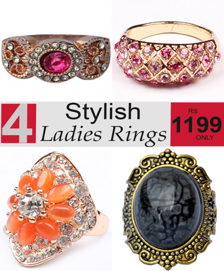 Stylish Ladies Rings Bundle-2