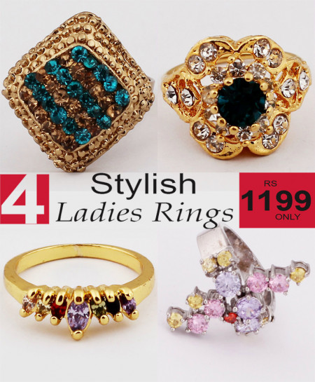 Stylish Ladies Rings Bundle-11