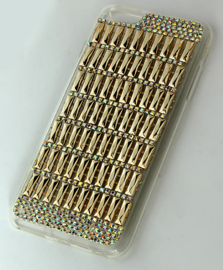 Iphone 6 Plus Multicolor Rhinestones Stylish Case