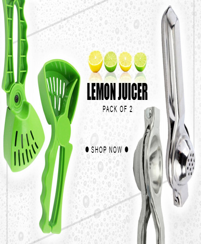 Pack Of 2 Lemon Juicer LJ-6742