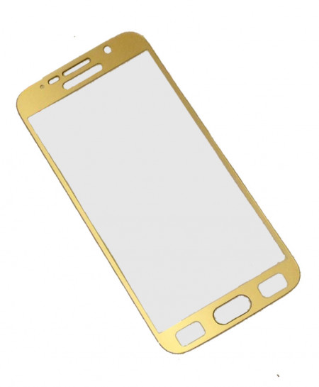 Samsung Galaxy S6 Golden Tempered Glass