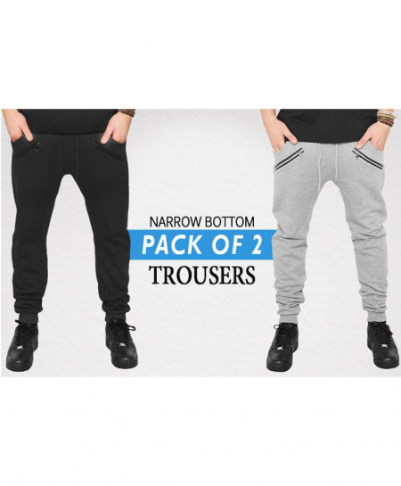 Pack Of 2 Narrow Bottom Style Trouser ST-5672