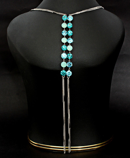 Stylish Necklace with Terquoise color Stones