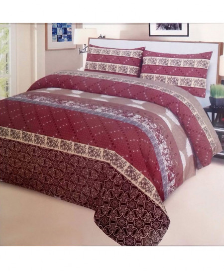 Multi Color Cotton King Size Bedsheet SY-95