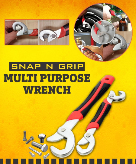 Snap N Grip Multipurpose Wrench