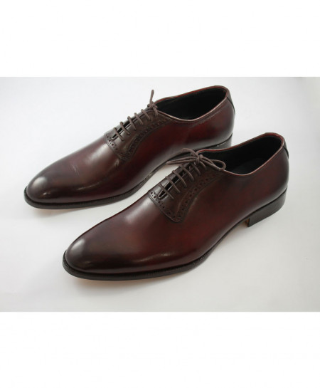 Corio Burgendy Men Classic Oxford Style Shoes CSR-JC-43