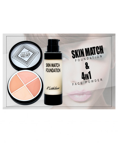 Skin Match and Face Powder KT-7030