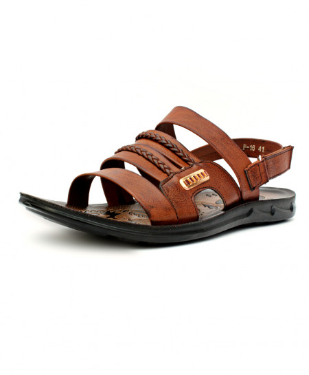Brown Stylish Single Strap Casual Sandal CB-5034