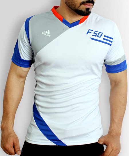 FSO V-Neck Multicolored Stylish Sports Shirt