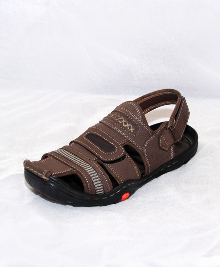 Brown Stitched Style Strap Fashion Sandal IS-003